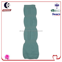 new design bubble shaped plain leg warmers