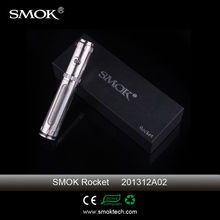 Smoktech Rocket vv vw ecig mod pure stainless steel VV VW magneto 18350/18650 Smok rocket