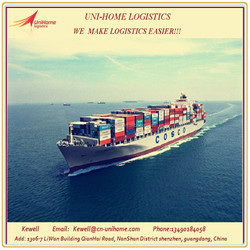sea freight forwarders/container shipping from china/shenzhen/guangzhou/foshan/zhongshan to Canada