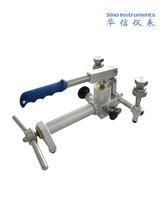 HS703 pneumatic pressure gauge comparator for pressure calibration