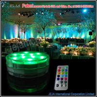 Hot Sale Wireless Battery Operated LED Light Saucers Wholesale