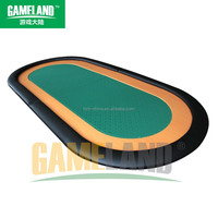 Two Foldable Round Poker Table Top With High Speed Table Cloth