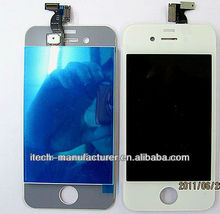 Black Digitizer Screen Replacement Conversion Kits LCD Assembly Repair Parts For iPhone 4 -CDMA &Version