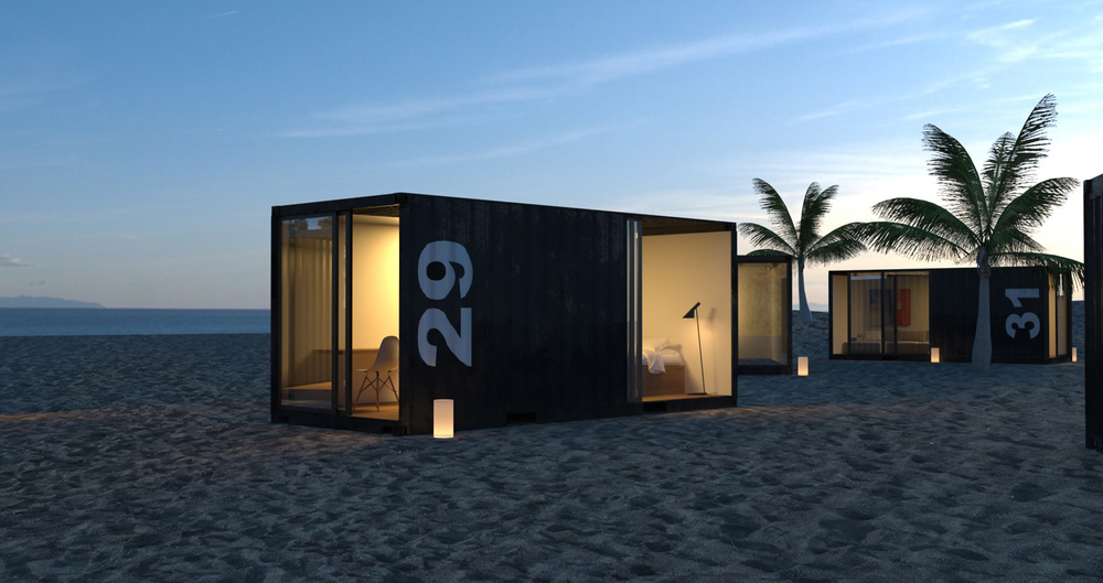 China supplier steel structure house prefabricated container house