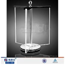OEM hot sale a4 acrylic sign holder,clear rotating acrylic menu holder
