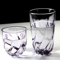 2014 China manufacturer creative cup whiskey glass beer mug Colorful transparent colored glass cup