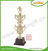 new design champion cup football soccer trophies