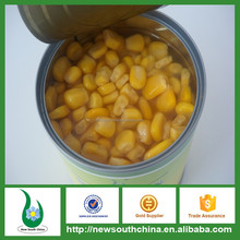 Dish ingredients ready to use canned yellow corn for sale