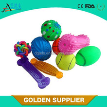 plastic pet squeaky chewing toy dog bone