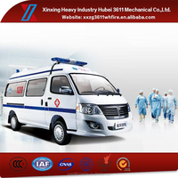 China Manufacturer Hot Sale Emergency Rescue Ambulance Car With Engine