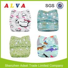 ALVA Christmas Reusable Nappy Washable Baby Cloth Nappies