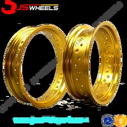 Supermoto spoked wheel rims Aluminum Alloy Wheels rims for RMZ250