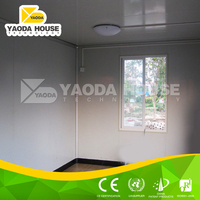 High quality Diaphanous prefabricated residential container houses