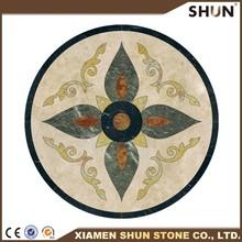 Marble floor medallion pattern/Waterjet marble floor medallion pattern/Water jet marble designs