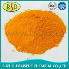 C.I.P.Y.34 Medium Chrome Yellow, chrome effect pigment1). Bright-colored exquisite powder. 2). Good weatherability (Lightfastn