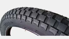 24 x 3 tire for bike chocolate pattern