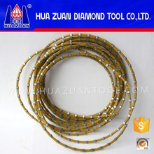 High efficiency 7 .2mm Profiling Using Plastic Wire Saw Suit for Granite Wire Saw Cutting Machine
