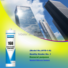 New R&D weather resistance glass silicone sealant
