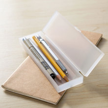 Colorful and Portable Plastic PP Stylish Pencil Case Box