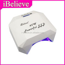 Professional 45W led light for curing gel polish lampada ccfl uv replaceable led light for gel polish