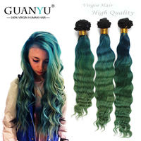 New product unprocessed 7a two tone cheap ombre hair extension,brazilian ombre hair weaves