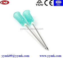 modern medical apparatus hypodermic needle sizes range from 16g-29g