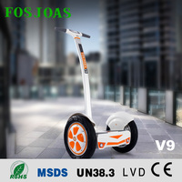 Airwheel factory sincerely invite distibutors 2 wheels self balancing electric scooter with handle Fosjoas V9 off road street