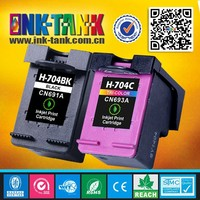 China zhuhai CN692AA / CN693AA compatible for hp 704 ink cartridge