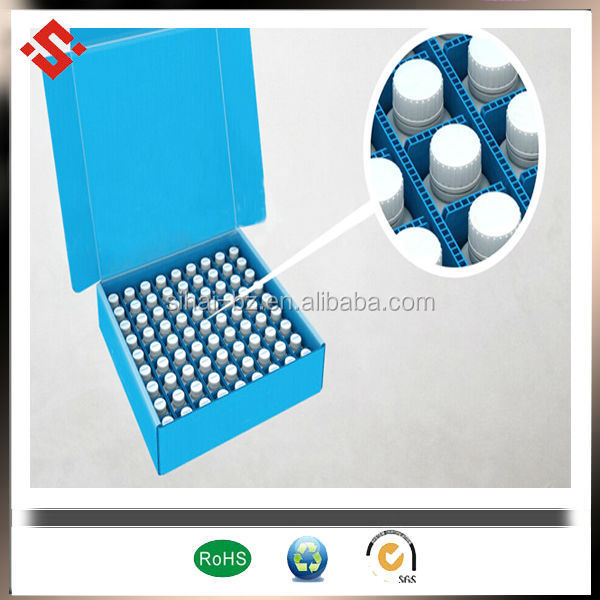 pp corrugated box with divider