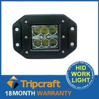 8PCS/LOT! 18W LED TRUCK LIGHT Flood / Spot Light for Boating Hunting Fishing