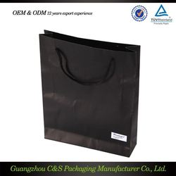 Custom Printed Low Cost Paper Bags Packaging For Shoes