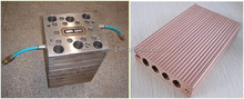 lowest price of WPC plastic extrusion mould and machinery