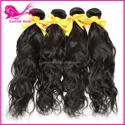 eayon alibaba express factory price and good quality Best-selling natural wave extension/weft