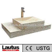 Hot Selling Lautus Designed New Model VHS90GL-VSSQ5045GL High Quality Natural Stone Sink Basin