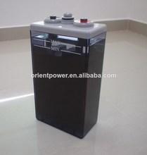 inondé de plomb acide de batterie 2v 3000ah opzs batterie