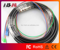 FC/APC to SC/UPC Waterproof Fiber Optic Patch Cord/Jumper,strictly followed GR326-CORE,NTT Standard