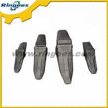High quality excavator forged bucket tooth and tooth holder for Caterpillar
