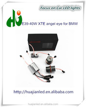 High power 40W XTE led chip E39 angel eyes led markers for car