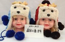 Kids Children Winter Warm Cartoon Knit Hat Beanie Hat