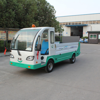 Mini 2 seater battery cargo truck for sale