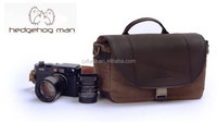Singapore brand HEDGEHOG MAN Genuine Leather Camera Shoulder Bag