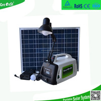 300w inverter 12v40Ah battery hosue lighting use portable solar power system solar power generator
