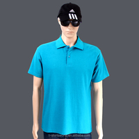 custom cheap man's blank cotton golf polo shirt