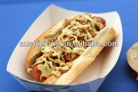 Good quality hot dog hot food delivery box fast food box