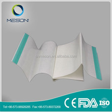 Free sample high quality sterilized surgical drape made from PE film