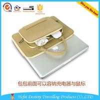 2015 hot sale lightweight handle laptop felt case Computer Portfolio