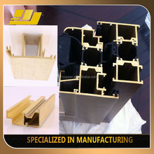 Professional Customized Brass Extruded Curtain Wall Profiles