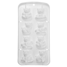 Beautiful Design Freeze Cute Bear Shape Silicone Ice Cube Jelly Chocolate Cake Candy Mould Mold Hot Sale