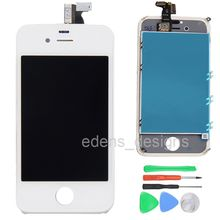 100% Test Top Quality Touch Screen Digitizer + LCD Display Digitizer Assembly For iPhone 4s Free Shipping IPH013+T005