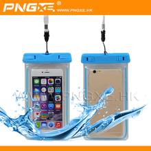 PNGXE Wholesale Diving bag flashing waterproof plastic Bag case cover for Cell phone